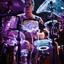 Glass Drum Kit